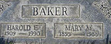 BAKER, MARY M - Mohave County, Arizona | MARY M BAKER - Arizona Gravestone Photos