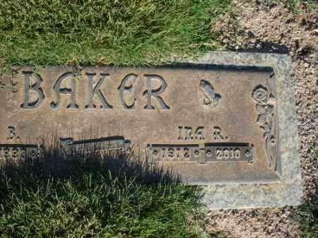BAKER, INA RUTH - Mohave County, Arizona   INA RUTH BAKER - Arizona Gravestone Photos