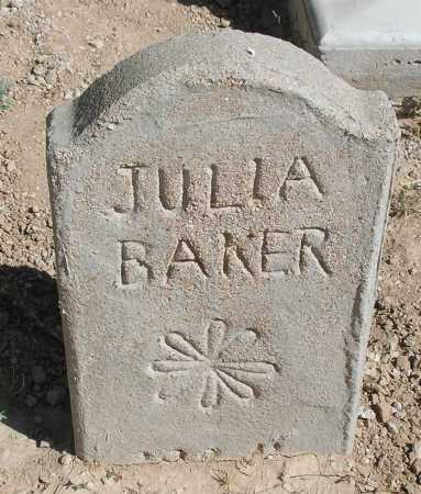 BAKER, JULIA - Mohave County, Arizona | JULIA BAKER - Arizona Gravestone Photos