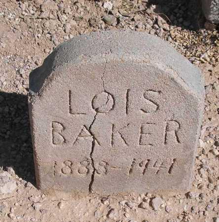 BAKER, LOIS - Mohave County, Arizona | LOIS BAKER - Arizona Gravestone Photos