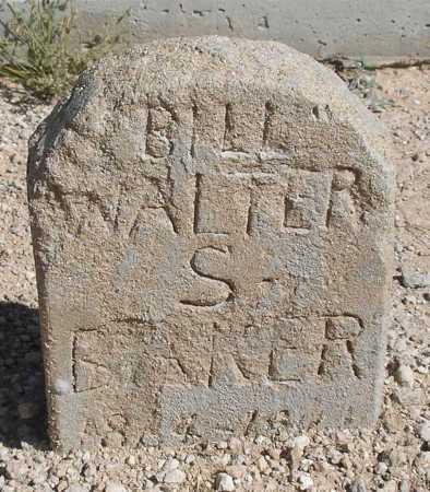 BAKER, WALTER S. - Mohave County, Arizona   WALTER S. BAKER - Arizona Gravestone Photos
