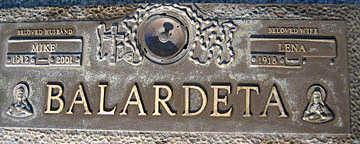 BALARDETA, LENA - Mohave County, Arizona   LENA BALARDETA - Arizona Gravestone Photos