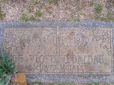 BALDAU, CHARLOTTE D - Mohave County, Arizona   CHARLOTTE D BALDAU - Arizona Gravestone Photos