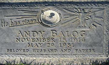 BALOG, ANDY - Mohave County, Arizona | ANDY BALOG - Arizona Gravestone Photos