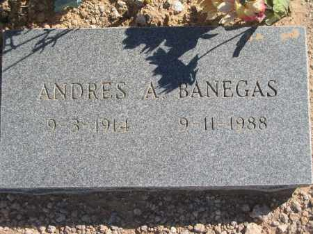 BANEGAS, ANDRES A - Mohave County, Arizona | ANDRES A BANEGAS - Arizona Gravestone Photos