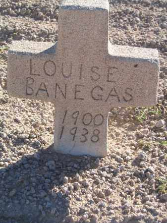 BANEGAS, LOUISE - Mohave County, Arizona | LOUISE BANEGAS - Arizona Gravestone Photos