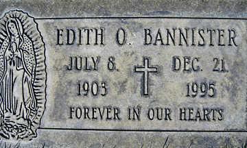 BANNISTER, EDITH O - Mohave County, Arizona | EDITH O BANNISTER - Arizona Gravestone Photos