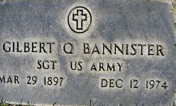 BANNISTER, GILBERT Q - Mohave County, Arizona   GILBERT Q BANNISTER - Arizona Gravestone Photos
