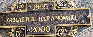 BARANOWSKI, GERALD R - Mohave County, Arizona | GERALD R BARANOWSKI - Arizona Gravestone Photos