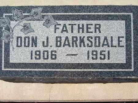 BARKSDALE, DON J - Mohave County, Arizona   DON J BARKSDALE - Arizona Gravestone Photos