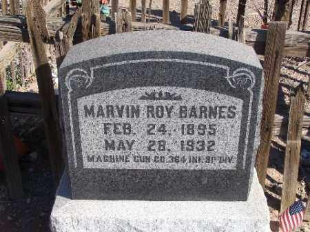 BARNES, MARVIN ROY - Mohave County, Arizona | MARVIN ROY BARNES - Arizona Gravestone Photos