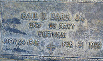 BARR, GAIL R. JR. - Mohave County, Arizona | GAIL R. JR. BARR - Arizona Gravestone Photos
