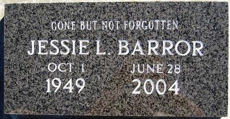 BARROR, JESSIE L - Mohave County, Arizona   JESSIE L BARROR - Arizona Gravestone Photos