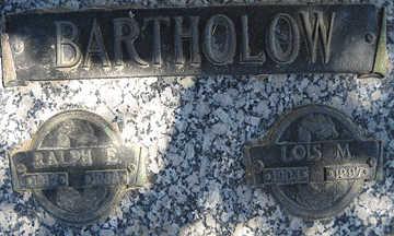 BARTHOLOW, LOIS M - Mohave County, Arizona   LOIS M BARTHOLOW - Arizona Gravestone Photos