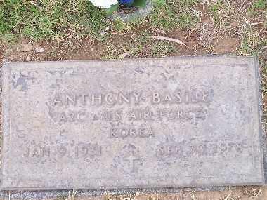 BASILE, ANTHONY - Mohave County, Arizona | ANTHONY BASILE - Arizona Gravestone Photos