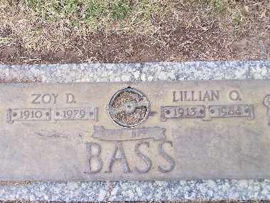 BASS, LILLIAN ONIETA - Mohave County, Arizona | LILLIAN ONIETA BASS - Arizona Gravestone Photos