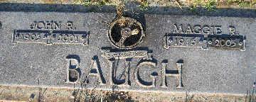 BAUGH, JOHN R - Mohave County, Arizona | JOHN R BAUGH - Arizona Gravestone Photos