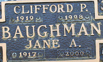 BAUGHMAN, CLIFFORD P - Mohave County, Arizona | CLIFFORD P BAUGHMAN - Arizona Gravestone Photos