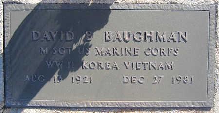 BAUGHMAN, DAVID B - Mohave County, Arizona | DAVID B BAUGHMAN - Arizona Gravestone Photos
