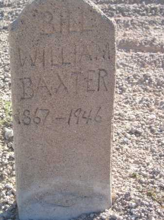 BAXTER, WILLIAM - Mohave County, Arizona | WILLIAM BAXTER - Arizona Gravestone Photos