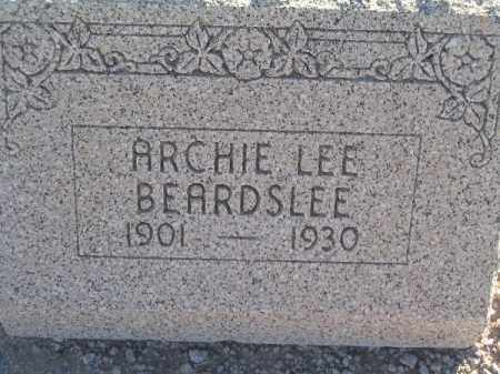BEARDSLEE, ARCHIE LEE - Mohave County, Arizona | ARCHIE LEE BEARDSLEE - Arizona Gravestone Photos