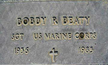 BEATY, BOBBY R - Mohave County, Arizona | BOBBY R BEATY - Arizona Gravestone Photos