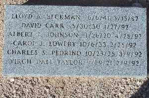 PEDRINO, CHARLES S - Mohave County, Arizona | CHARLES S PEDRINO - Arizona Gravestone Photos