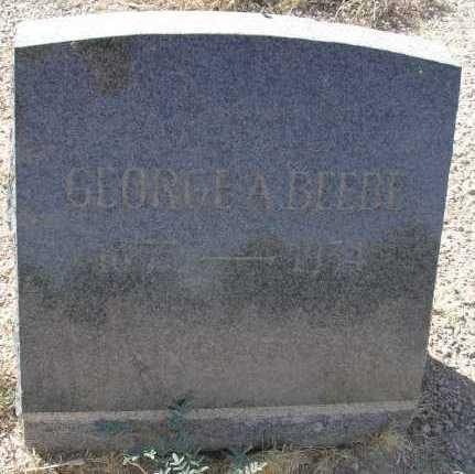 BEEBE, GEORGE A. - Mohave County, Arizona | GEORGE A. BEEBE - Arizona Gravestone Photos