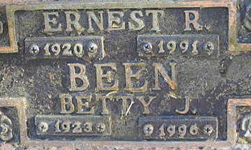 BEEN, BETTY J - Mohave County, Arizona   BETTY J BEEN - Arizona Gravestone Photos