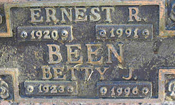 BEEN, ERNEST F - Mohave County, Arizona | ERNEST F BEEN - Arizona Gravestone Photos