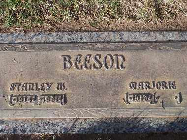 BEESON, MARJORIE DICK - Mohave County, Arizona | MARJORIE DICK BEESON - Arizona Gravestone Photos