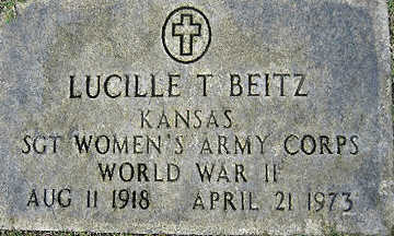 BEITZ, LUCILLE T - Mohave County, Arizona | LUCILLE T BEITZ - Arizona Gravestone Photos