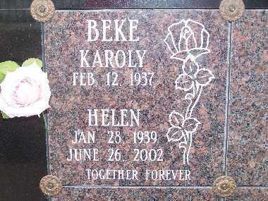 BEKE, HELEN - Mohave County, Arizona | HELEN BEKE - Arizona Gravestone Photos