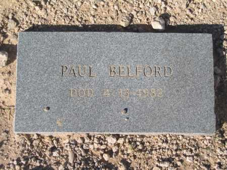 BELFORD, PAUL - Mohave County, Arizona | PAUL BELFORD - Arizona Gravestone Photos