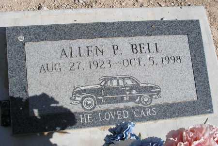 BELL, ALLEN P. - Mohave County, Arizona | ALLEN P. BELL - Arizona Gravestone Photos