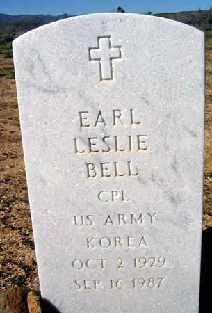 BELL, EARL LESLIE - Mohave County, Arizona | EARL LESLIE BELL - Arizona Gravestone Photos