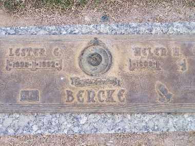 BENCKE, LESTER GEORGE - Mohave County, Arizona | LESTER GEORGE BENCKE - Arizona Gravestone Photos