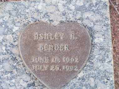 BENDER, ASHLEY A - Mohave County, Arizona | ASHLEY A BENDER - Arizona Gravestone Photos