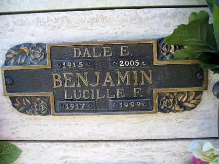 BENJAMIN, LUCILLE F - Mohave County, Arizona | LUCILLE F BENJAMIN - Arizona Gravestone Photos