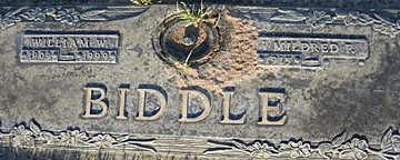 BIDDLE, MILDRED F - Mohave County, Arizona | MILDRED F BIDDLE - Arizona Gravestone Photos