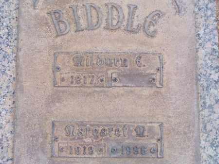 BIDDLE, MARGARET M - Mohave County, Arizona | MARGARET M BIDDLE - Arizona Gravestone Photos