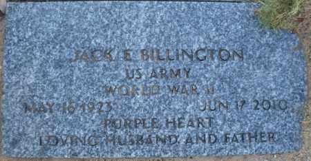 BILLINGTON, JACK EVERETT - Mohave County, Arizona | JACK EVERETT BILLINGTON - Arizona Gravestone Photos