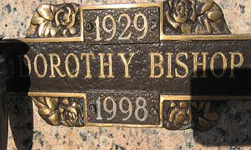 BISHOP, DOROTHY - Mohave County, Arizona | DOROTHY BISHOP - Arizona Gravestone Photos