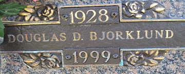BJORKLUND, DOUGLAS D - Mohave County, Arizona | DOUGLAS D BJORKLUND - Arizona Gravestone Photos