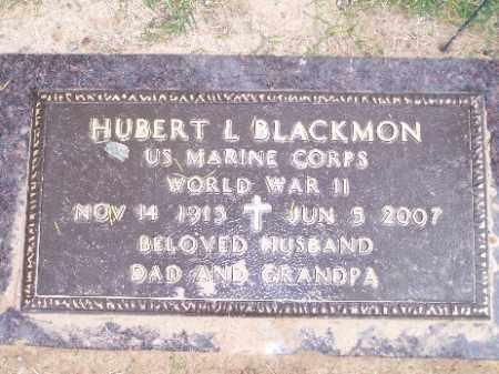 BLACKMON, HUBERT L - Mohave County, Arizona | HUBERT L BLACKMON - Arizona Gravestone Photos