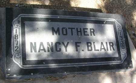BLAIR, NANCY F. - Mohave County, Arizona   NANCY F. BLAIR - Arizona Gravestone Photos