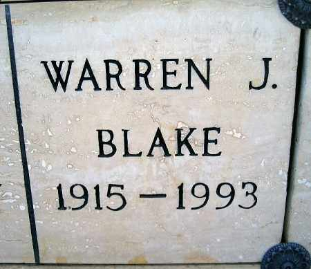 BLAKE, WILLIAM J - Mohave County, Arizona   WILLIAM J BLAKE - Arizona Gravestone Photos