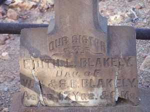 BLAKELY, EDITH L - Mohave County, Arizona   EDITH L BLAKELY - Arizona Gravestone Photos