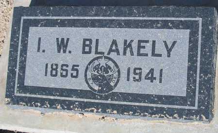 BLAKELY, I.W. - Mohave County, Arizona | I.W. BLAKELY - Arizona Gravestone Photos