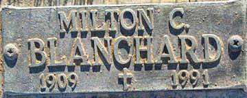 BLANCHARD, MILTON C - Mohave County, Arizona   MILTON C BLANCHARD - Arizona Gravestone Photos